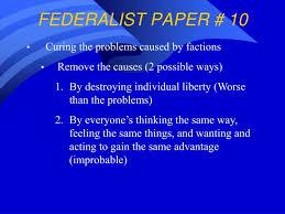 Federalist paper    SP ZOZ   ukowo