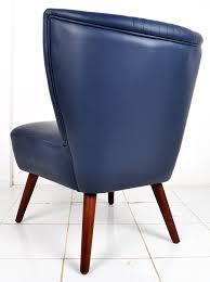 teak and italian leather scandinavian chair
