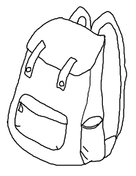 Small Picture How to Draw Backpack Coloring Pages Best Place to Color