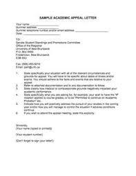 12 Best Sample Appeal Letters Images Business Letter Format