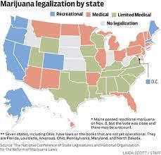 legalized states marijuana