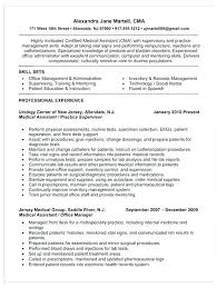 Resume Template For Medical Assistant Medical Assistant Resume