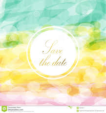 Save The Date And Light Pink Green Yellow Love Pastel Background