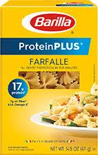 barilla proteinplus farfalle pasta