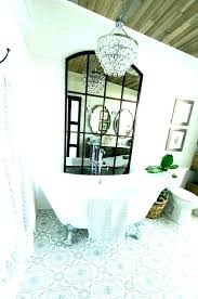chandelier above bathtub over tub soaking add a the together with ideal bathroom art in tupperware chandelier over tub bathtub