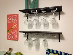 furniture hanging wine rack awesome interior under cabinet oak wood ceiling glass holder as wine glass rack pottery barn e5 rack