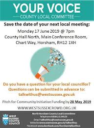 Wscc Local Committee In North Horsham North Horsham Parish