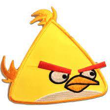Angry birds Maching Bird Gelb Yellow Angry Bird Game Figure Patch -  Aufnäher, Bügelbild, Aufbügler, Applikationen, Patches, Flicken, zum  aufbügeln, Größe: | Catch the Patch - dein Shop für Aufnäher und  Bügelflicken