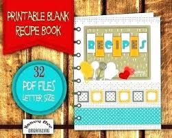 Recipe Book Cover Template Free Gallery Design Ideas 4
