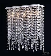 glass drop chandeliers crystal chandelier modern rectangular