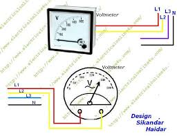 voltmeter wiring diagram voltmeter wiring diagrams online voltmeter 3 phase wiring wiring diagram for automotive