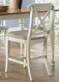 liberty furniture santa rosa mission oak 24 in counter stool set of 2 hayneedle