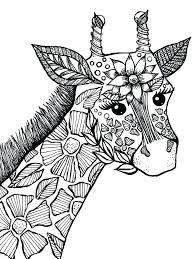 Cool Animal Coloring Pages Animal Coloring Pages For Adults 9 Cute