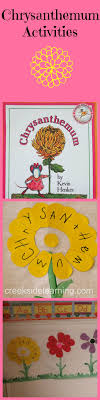 Activities For The Book Chrysanthemum By