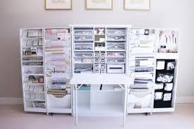 Craft Storage Hide Away | Teresa Collins new craft area
