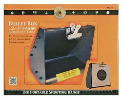 heavy metal pellet and bullet trap