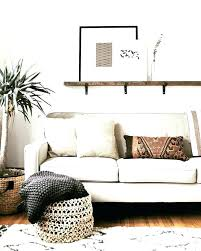wall decor above couch decorating