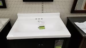ina solid white cultured marble vanity top