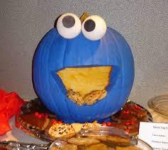 cookie monster pumpkin from treudekids
