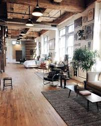 industrial office flooring. Plain Industrial Loft Style Living With Plenty Of Wood To Industrial Office Flooring