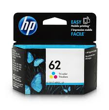 Amazon Com Hp 62 Tri Color Original Ink Cartridge C2p06an