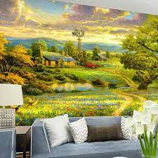 American Style Photo Mural Embossed 3D ...