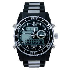 u s polo assn sport men s us9490 analog digital watch black u s polo assn sport men s us9490 analog digital watch black silicone band