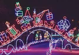 Chisholm Trail Park Christmas Lights 93 000 And Counting Yukon Progress