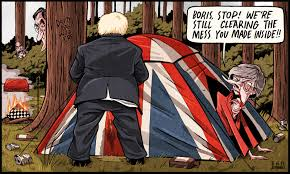 Image result for boris johnson cartoon joke