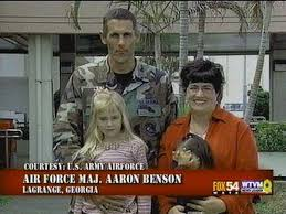 Air Force MAJ Aaron Benson