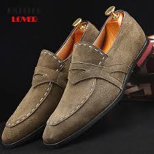 <b>Men's</b> Shoes Genuine Leather Slip On <b>Men</b> Loafers Shoes <b>Spring</b> ...