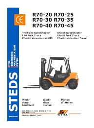 still steds r70 20, r70 25, r70 30 fork trucks workshop manual pdf Rover 25 Wiring Diagram Pdf repair manual still steds r70 20, r70 25, r70 30 fork Lennox Wiring Diagram PDF