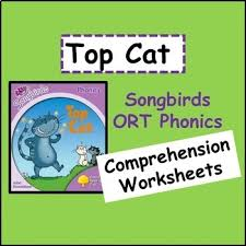 These free worksheets help your kids learn to define sounds from letters to make words. Top Cat Oxford Reading Tree Songbirds Phonics Stage 1 Comprehension Worksheets