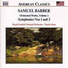 samuel barber marin alsop royal scottish national orchestra  barber orchestral works vol 1 overture the school for scandal