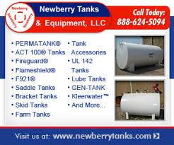 Newberry Tanks Tank Chart Newberry Tanks Equipment Llc West Memphis Arkansas Ar