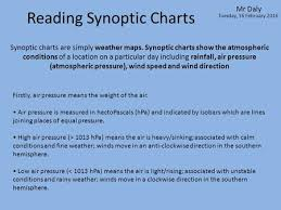 Understanding Synoptic Charts A Synoptic Chart Is Another