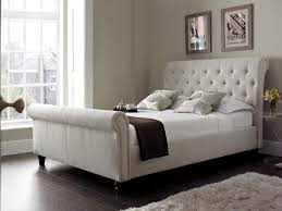 ... Large Size of King Size Bed:furniture Bedroom Classic Brown High Gloss  Finish Bed Frame ...