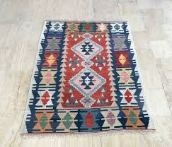kilim rug 3 4 5 6ft vintage runner rug handmade rug muted color rug oushak rug turkish rug turk