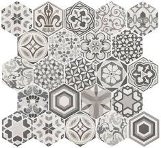 21357 <b>Hexatile</b> Harmony B&W 17,5x20 <b>керамогранит</b> от <b>Equipe</b> ...