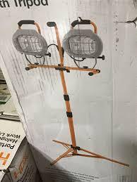 Hdx Dual Work Light Hdx 1000 Watt Halogen Work Light W Tripod Industrial