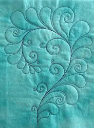 Best 25+ Free motion quilting ideas on Pinterest | Machine ... & I like that this feather free-motion quilting motif isn't just straight  feathers. There are curlicues and swirls. Adamdwight.com