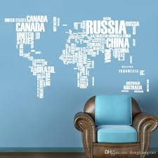 office wall stickers. Wonderful Office Wallpaper Colorful Letters World Wall Stickers Living Room Home Decorations  Creative Pvc Decal Mural Art Diy Office H47 Decals For Adults  In