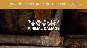repairing copper pipes in concrete slab