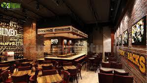 Artstation Stunning Modern 3d Bar Interior Design View