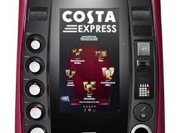 Costa Vending Machines Gorgeous Costa Coffee Installs 4848th Express Selfserve Machine