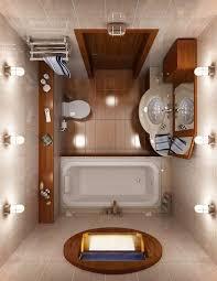 tiny house bathrooms. White And Orange Tiny Bathroom Classic Design House Bathrooms