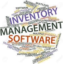 Word Inventory Abstract Word Cloud For Inventory Management Software With Related