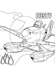 Planes 2 Kleurplaat Dusty