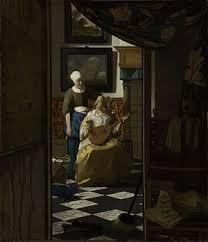 300px Vermeer Johannes The Loveletter