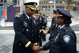 u s department of defense photo essay  army vice chief of staff gen lloyd j austin iii meets new york police